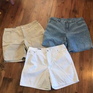 Bundle of Lands End Shorts